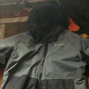 Columbia rain jacket for youth